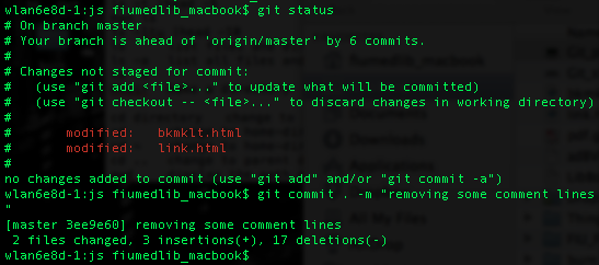 Using Git with BitBucket: Basic commands – pull, add, commit, push